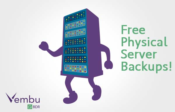 backup physical server to machine